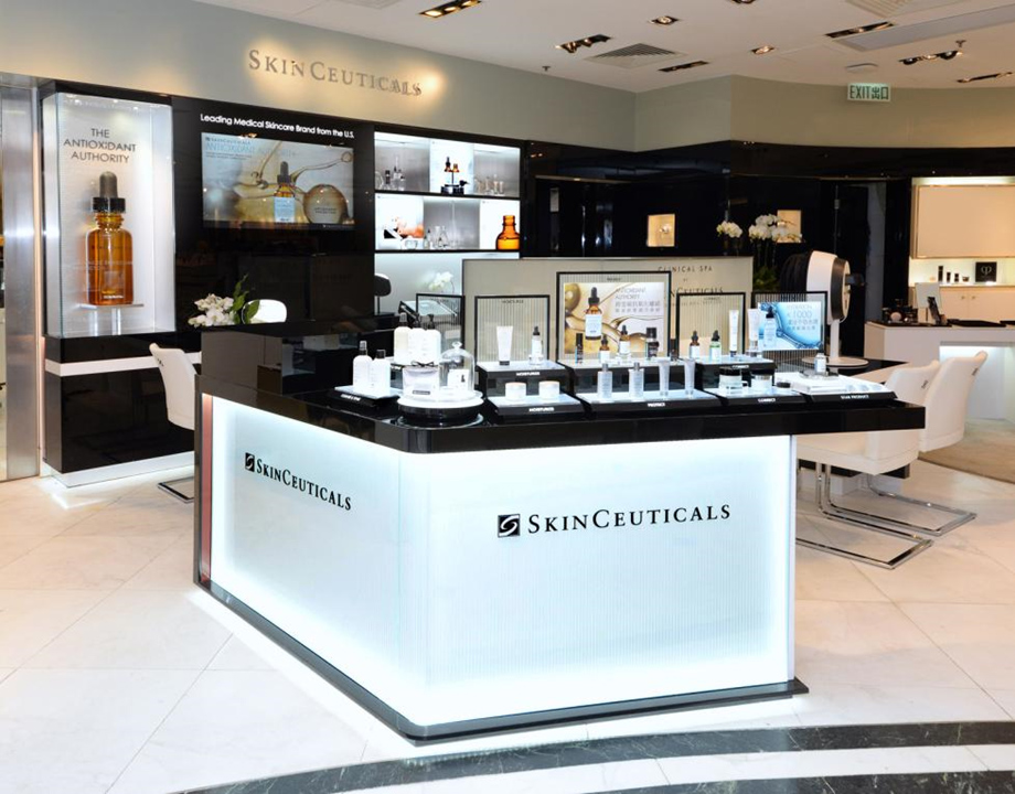 Skinceuticals Shop In Shop Concept Nelson Ayala Design