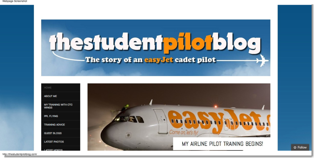 Chris Buckley: TheStudentPilotBlog