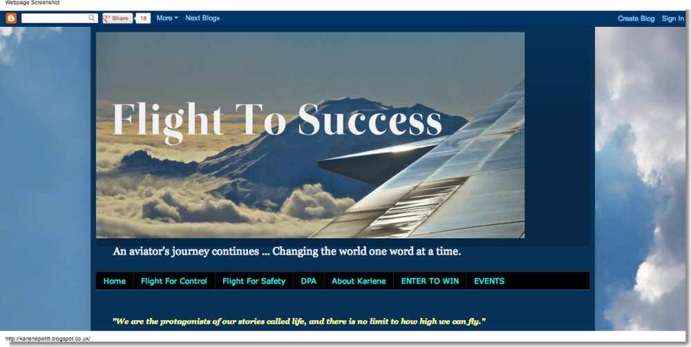 Karlene Petitt: Flight To Success