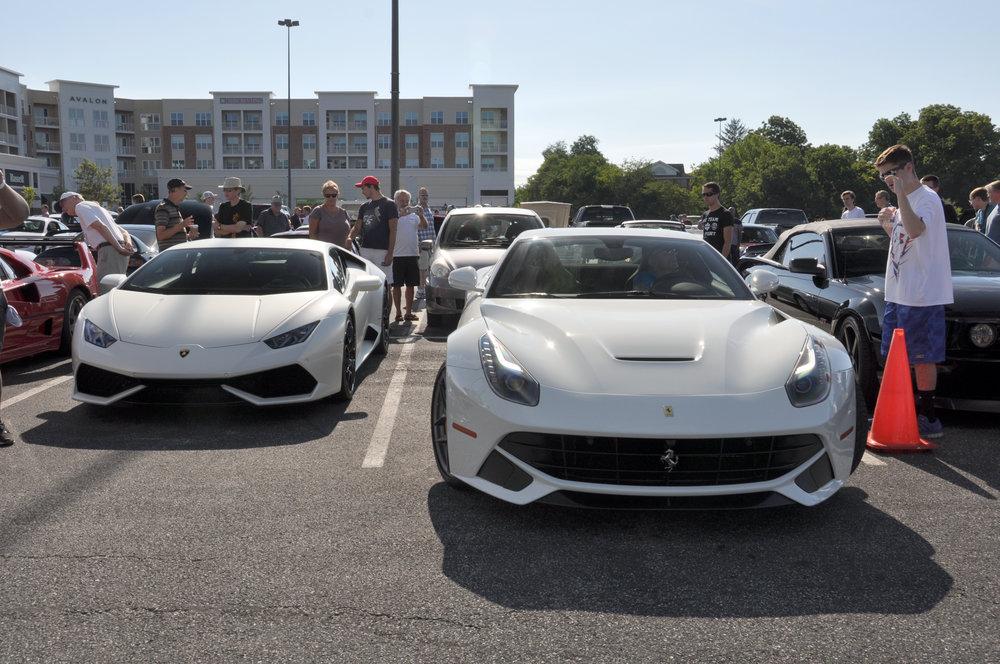 1 Ferrari F12 Lamborghini Huracan.jpg