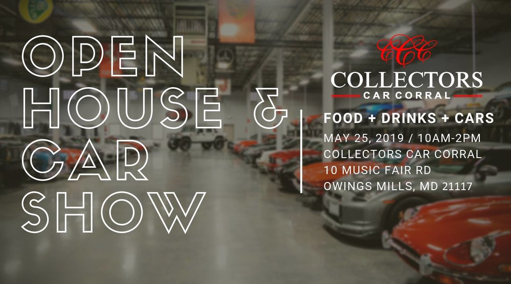 Collectors Car Corral Open House and Car Show 5-25-19.jpg