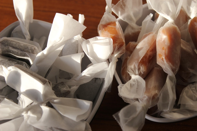 diy gifts, candy, caramels, beer