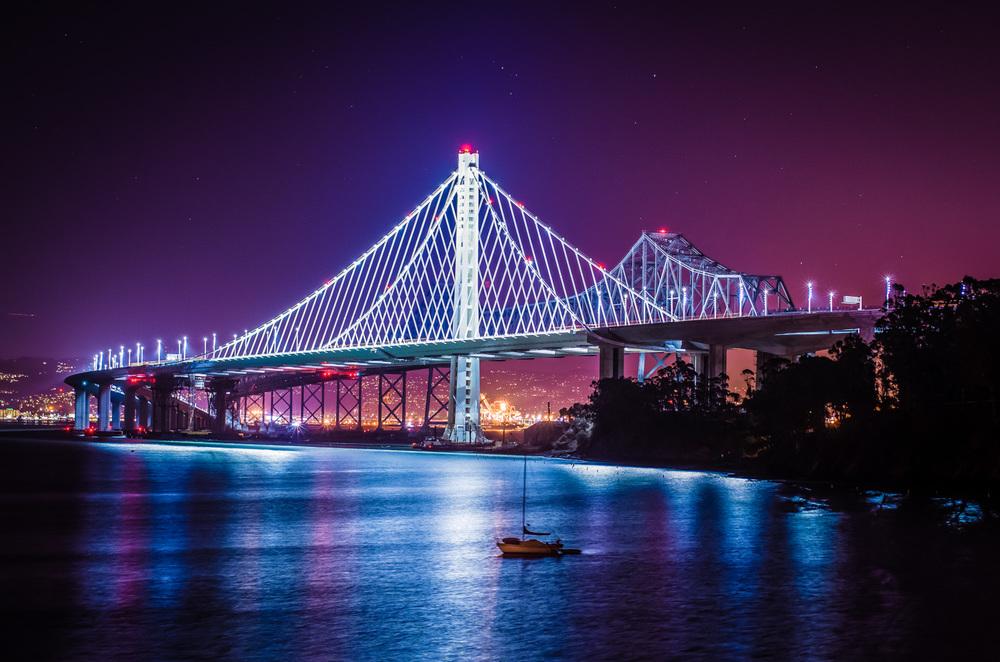 Sacramento Corporate & Industrial Photography-San Francisco/Bay Bridge from Treasure Island
