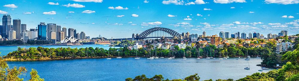Sydney Harbor from Tarongo Zoo