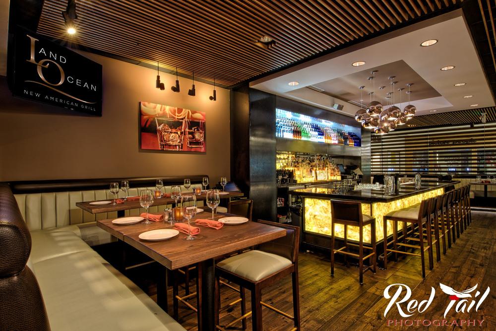 Commercial Interior Photography/Land Ocean Restaurant