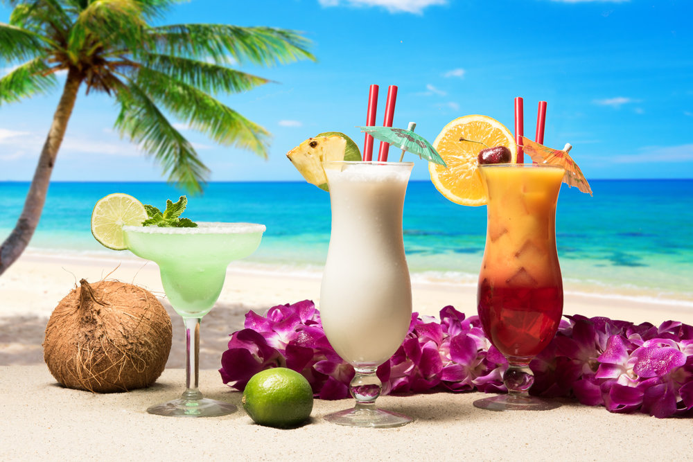 Tropical Beverage Photography