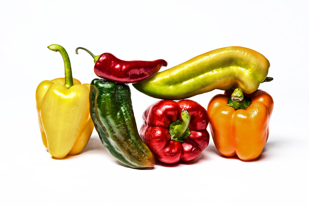Peppers - Food Photography