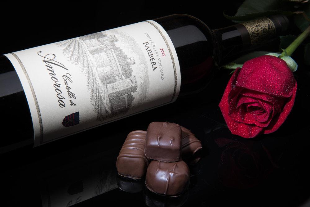Castello di Amorosa wine photography