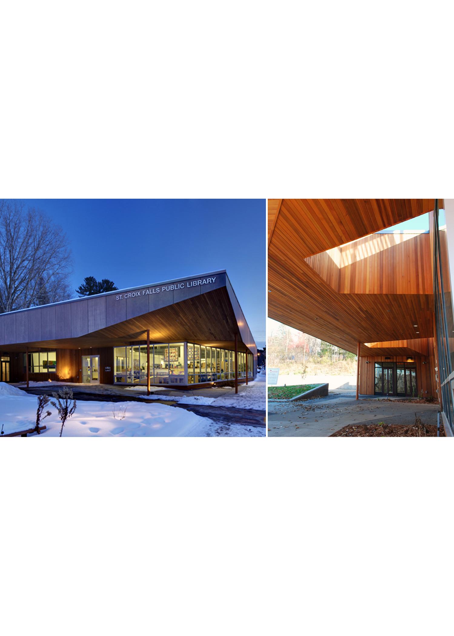 st croix falls library u2014 norsman architects ltd