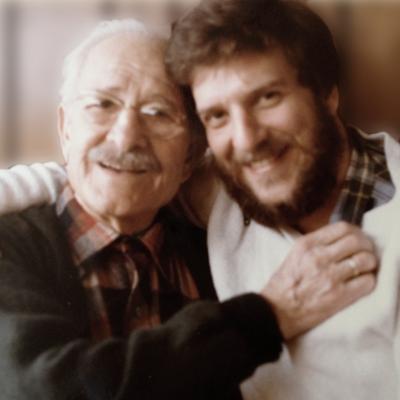 John Macris and son Spyros Macris