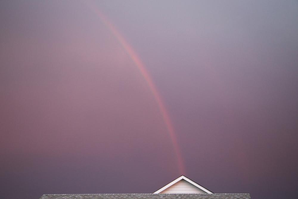 176 // 365 Post-dinner rainbow