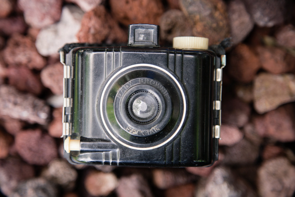 188 // 366 Flea'd baby brownie camera