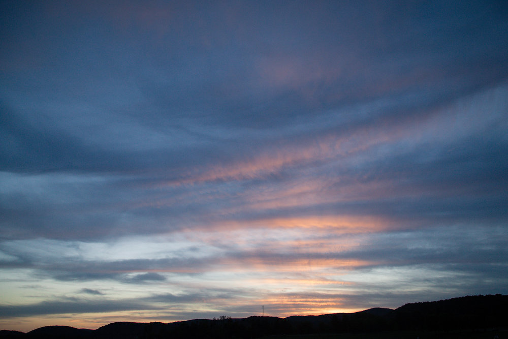 243 // 366 Lake sunset