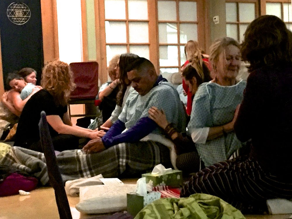 Practice for Death, one of many practices in the End of Life Doula training.