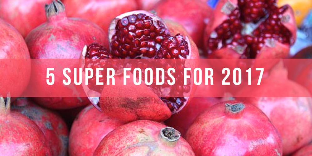 5 Superfoods for 2017