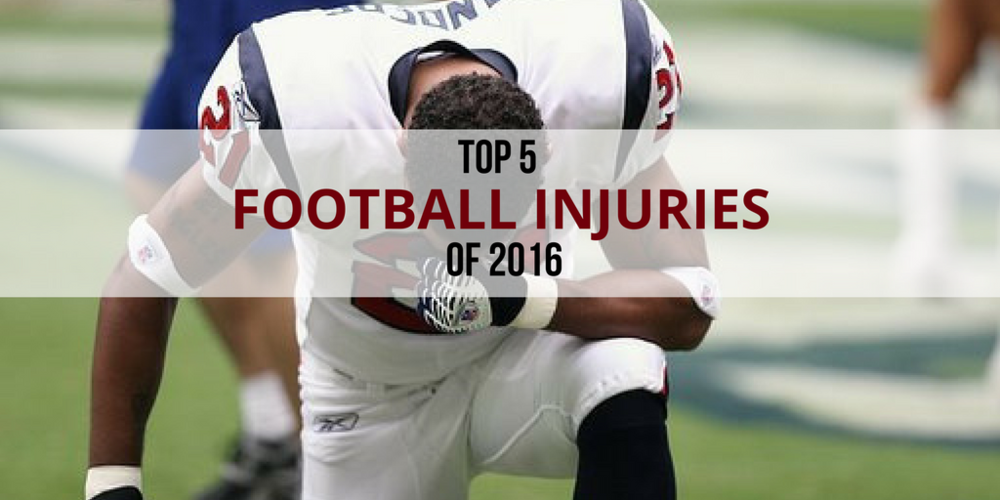 Top 5 Football Injuries of 2016