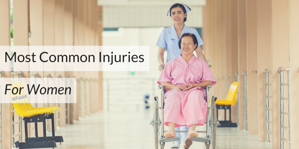 Most Common Injuries For Women