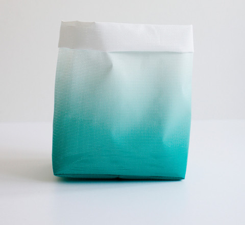 Storage Sack/Green Gradient