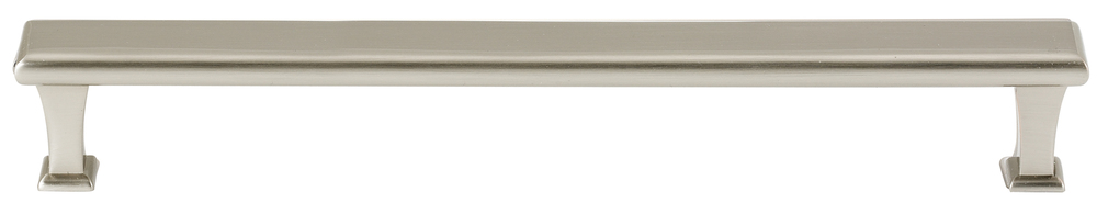 106D310-12-SN Manhattan appliance handle solid brass, satin nickel finish.  Also available in polished nickel, polished chrome and bronze.