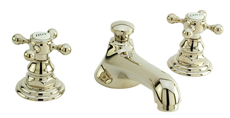 228920-PN Astor widespread lav faucet shown in polished nickel.  Available in 27  finishes .