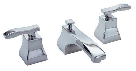 2281040-26 Colorado widespread lav faucet shown in polished chrome.  Available in 27  finishes .