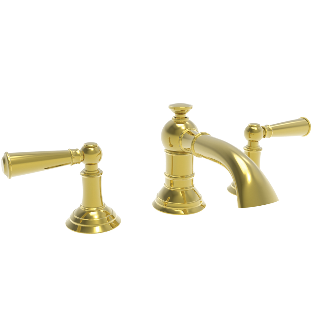 2282430-01 Aylesbury lav faucet shown in Forever Brass.  Also offered with cross handles.  Available in 27 finishes.