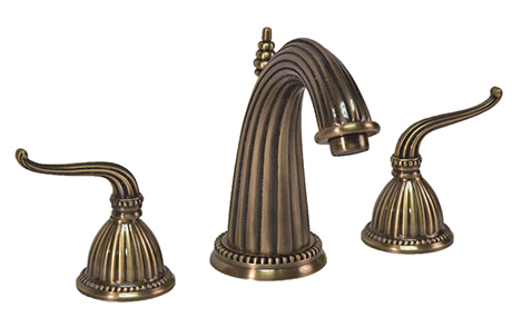 2281090-06 Alexandria lav faucet shown in antique brass.  Available in 27  finishes .