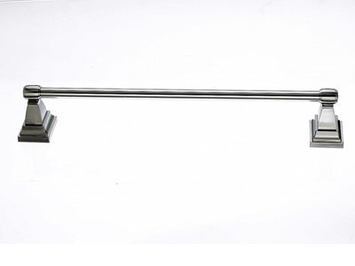 "183STK6BSN Stratton towel bar 18"" satin nickel.  Available in three sizes and five finishes."