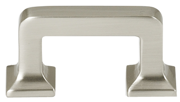 106A950-SN Millennium handle 1-1/2in ctc shown in satin nickel.  Available in multiple sizes and four finishes.