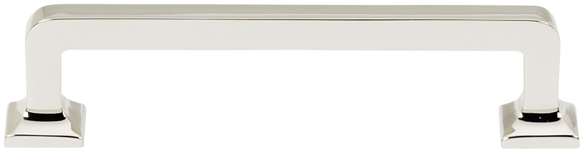 106A950-4-PN Millennium handle 4in ctc shown in polished nickel.  Available in multiple sizes and four finishes.