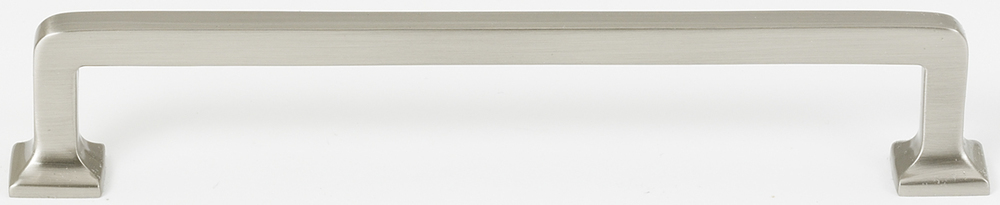 106A950-6-SN Millennium handle 6in ctc shown in satin nickel.  Available in multiple sizes and four finishes.
