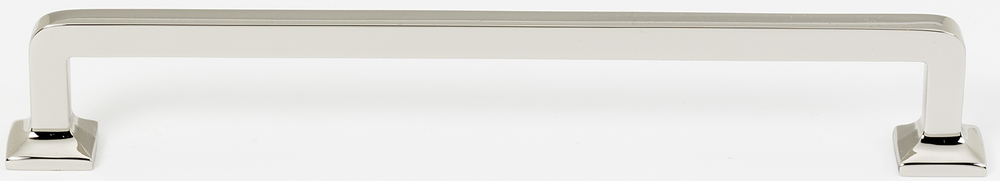 106D950-12-PN Millennium appliance handle 12in ctc shown in polished nickel. Available in two sizes and four finishes.