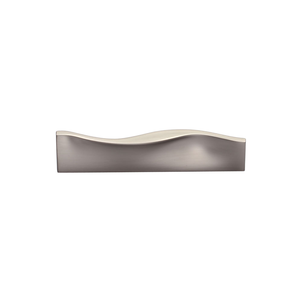 267MC2852-096-MSN Urban wave handle 96mm ctc shown in satin nickel. Other sizes and finishes available.