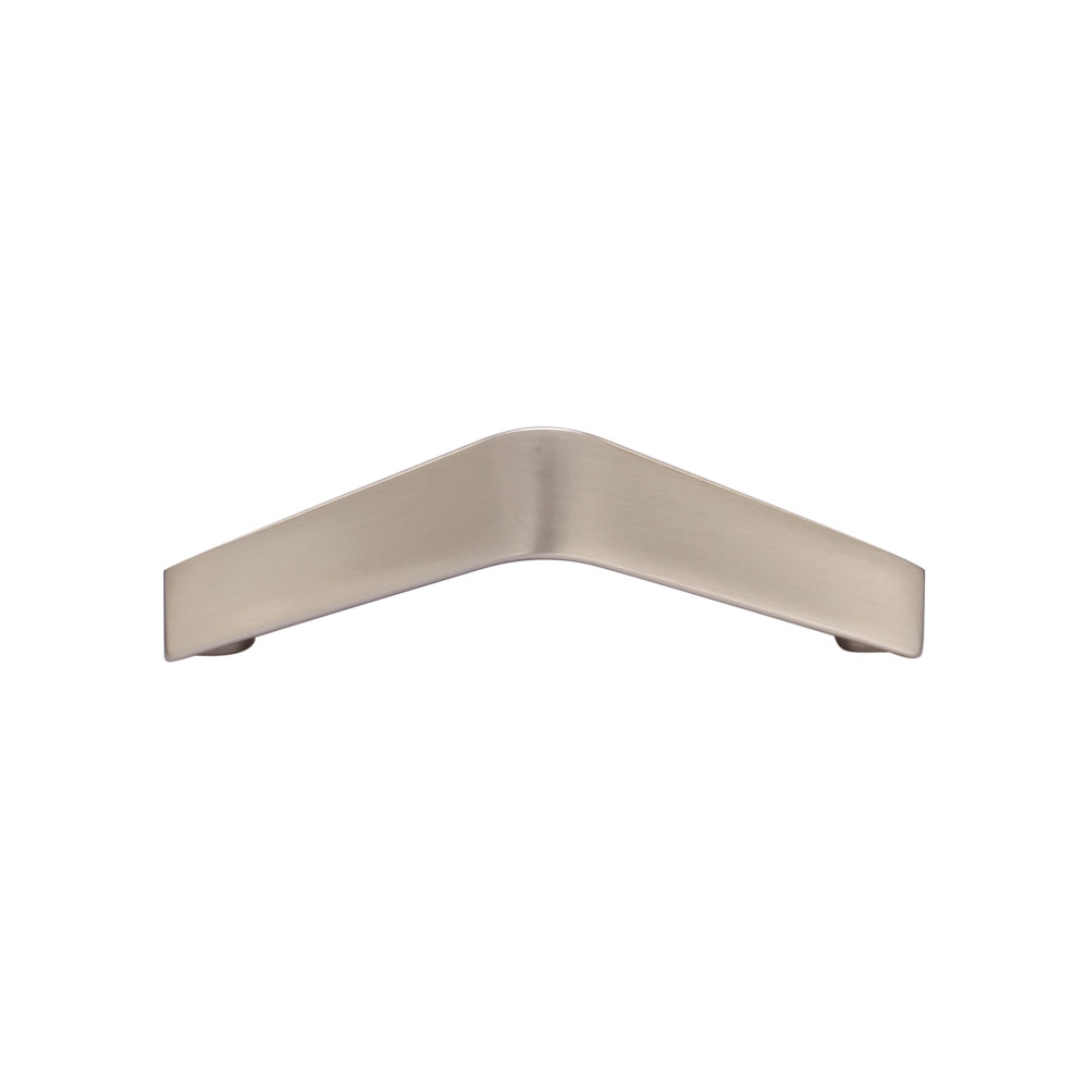267MC2807-096-MSN Urban angle handle 96mm ctc shown in satin nickel. Other sizes and finishes available.