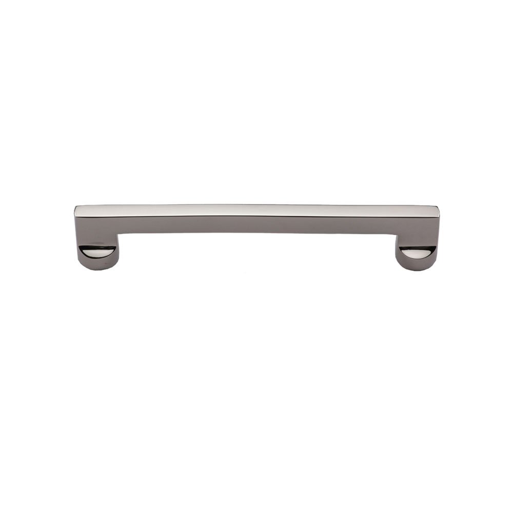 267MT0345-096-PNI Flat sided handle 96mm ctc shown in polished nickel. Available in three other sizes and finishes.