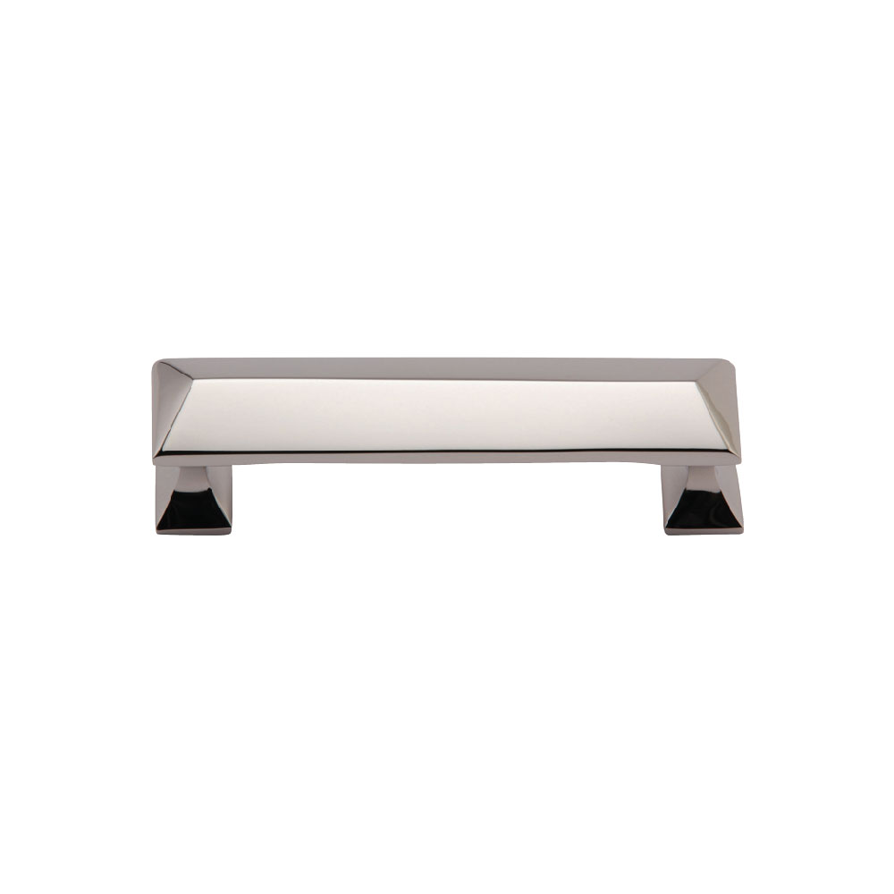 267MT2232-096-PNI Pyramid handle 96mm ctc shown in polished nickel. Available other sizes and finishes.
