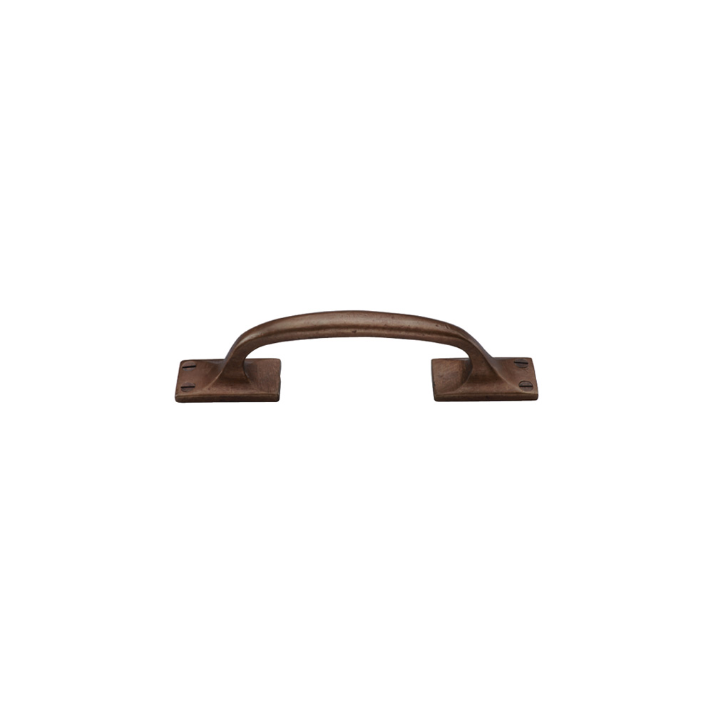 "2671145.6-1/4 Barn door pull 6-1/4"" shown in light bronze. Available in several sizes and finishes."
