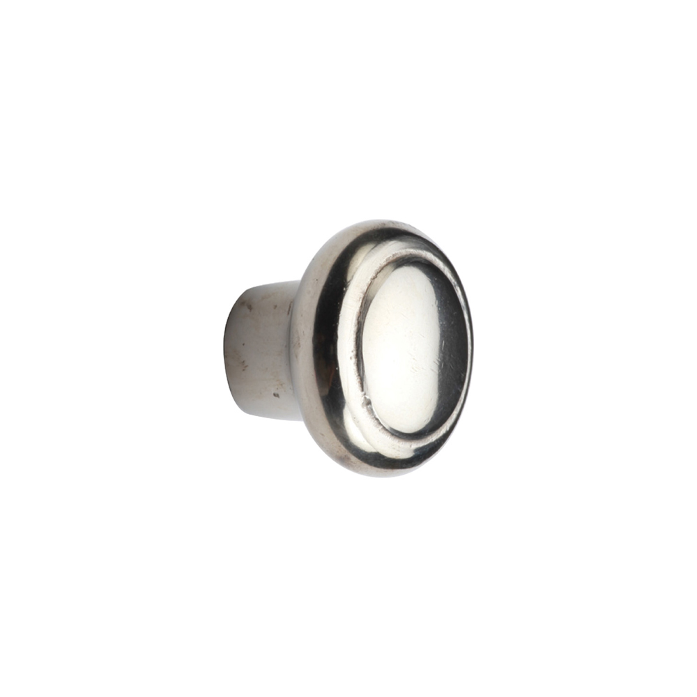 "2673990.1-1/2-WL Newport knob 1-1/2"" shown in white bronze.  Available in additional sizes and finishes."