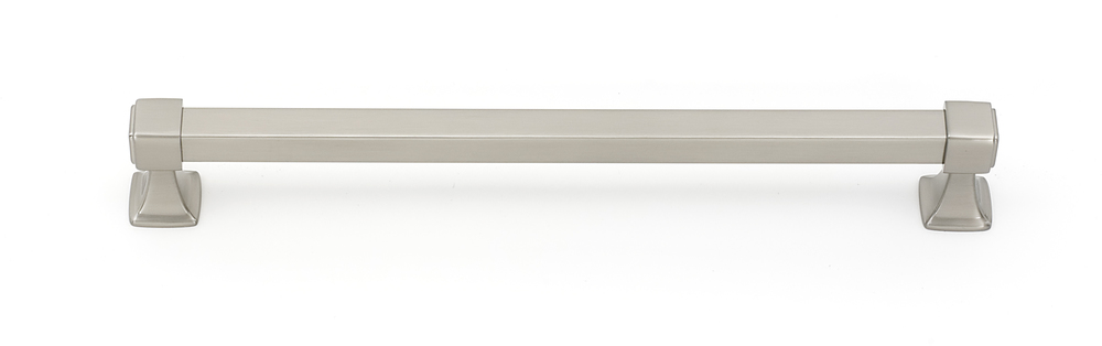 106D985-12-SN Square appliance handle 12in ctc shown in satin nickel, available in six finishes.