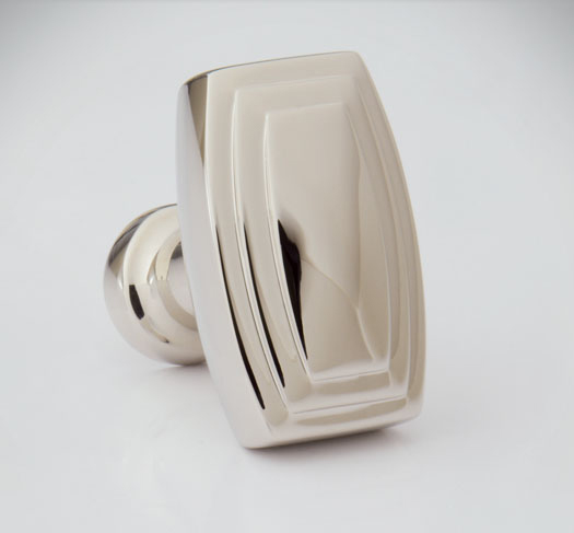 "2598530-PN Terrace oval knob 1-1/4"". Offered in numerous  finishes ."