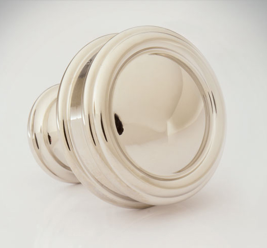 "2598531-PN Port Royal recessed plain knob 1-1/4"". Other size and  finishes  options available."