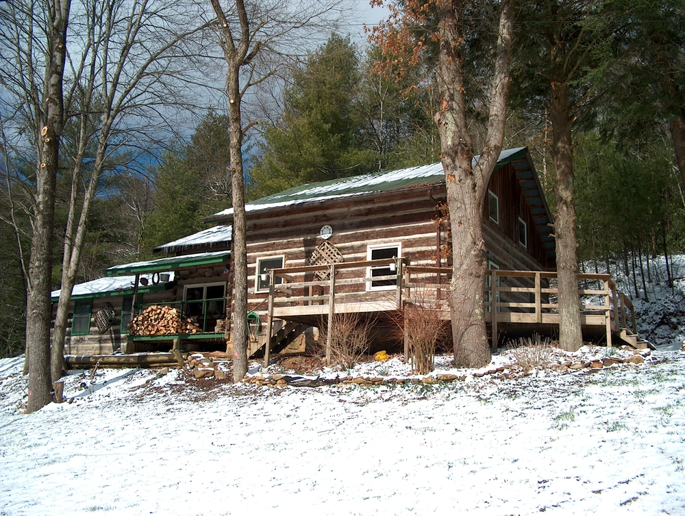 Wintertime at Viking Mountain Lodge