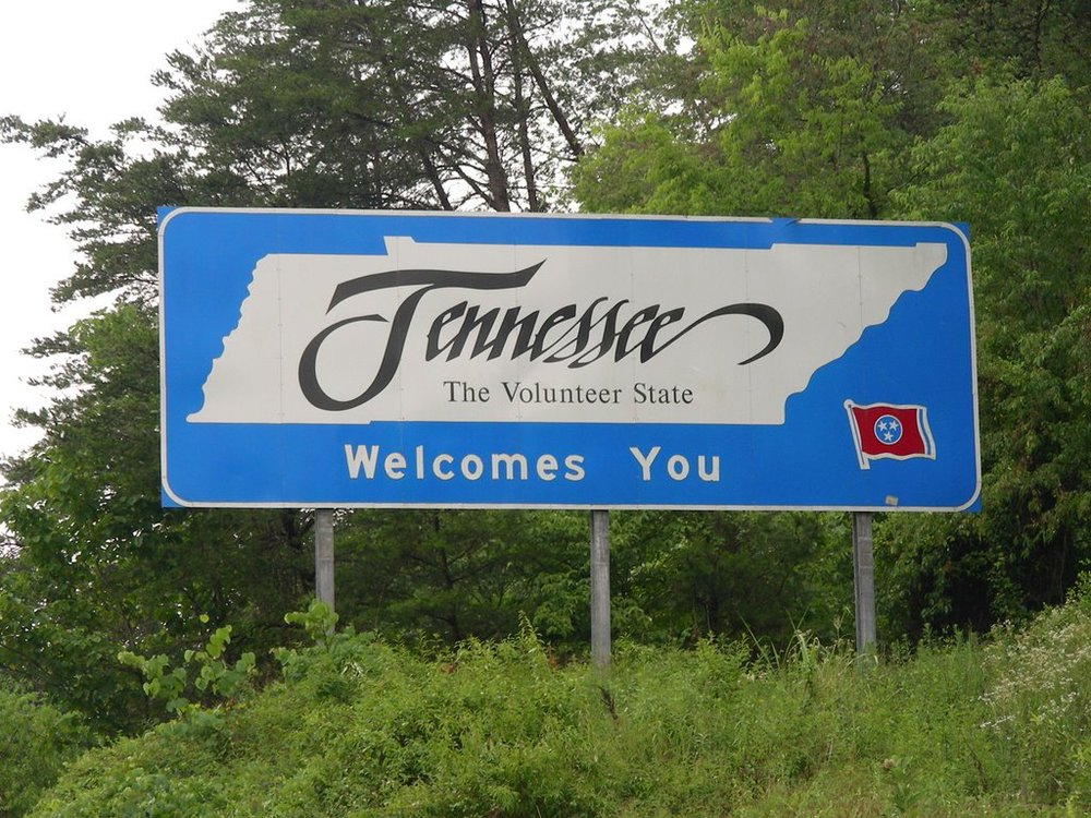Welcome to Tennessee!