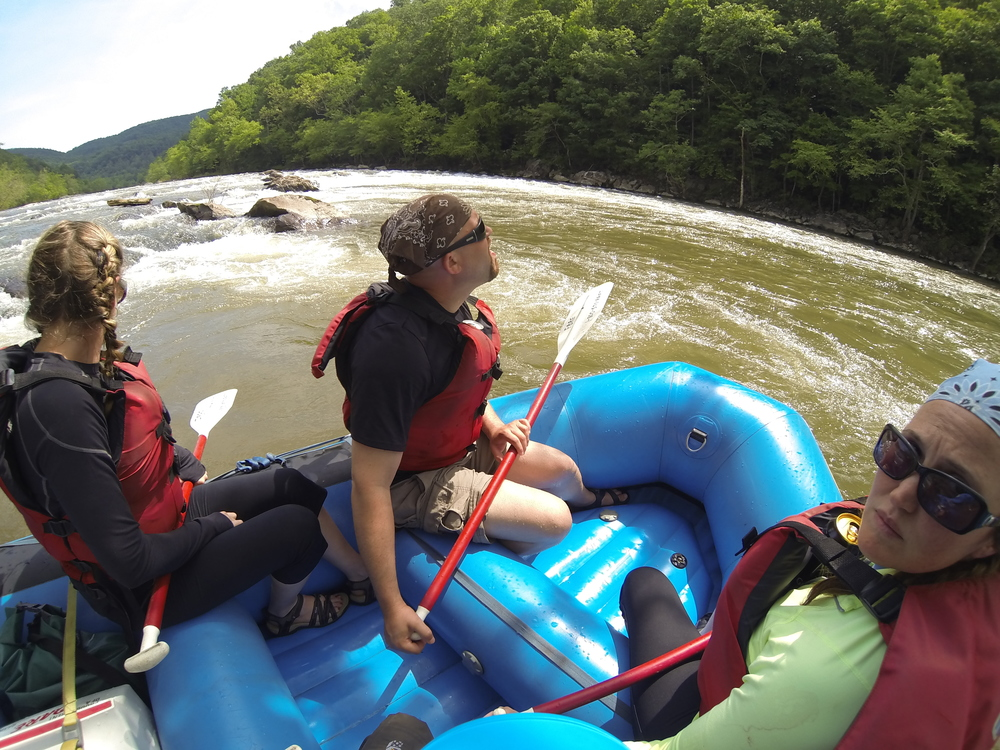 Rafting on the French Broad River