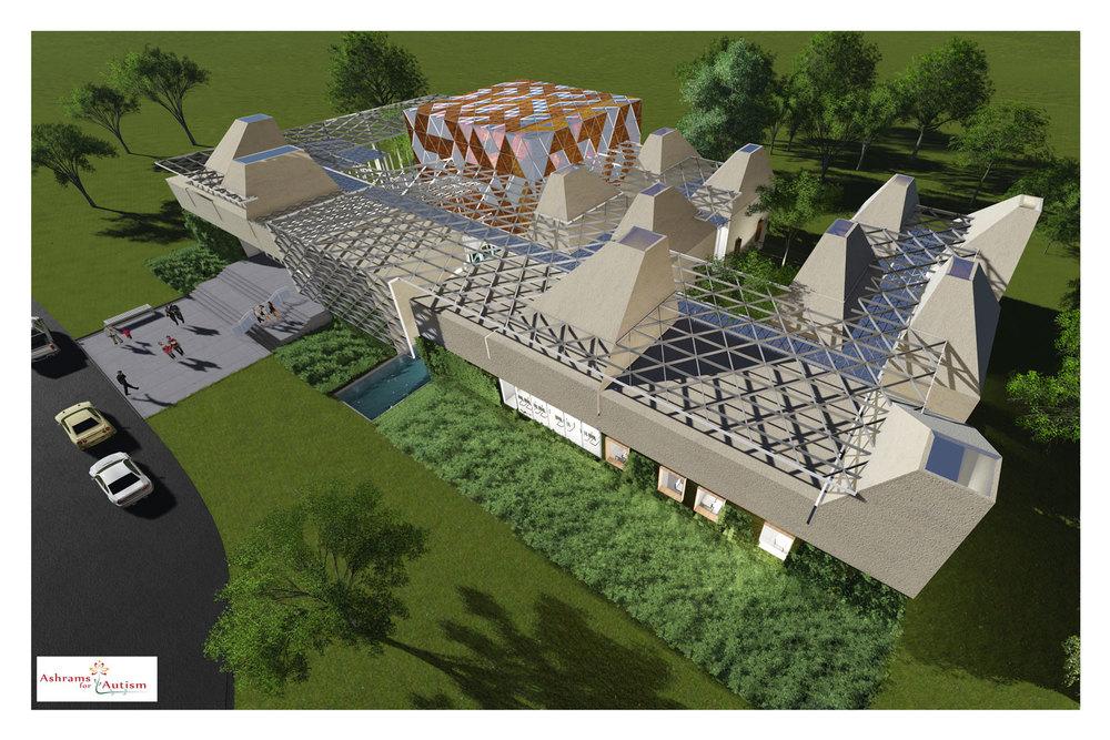 ashrams for autism, holistic center   status: design development            program: institutional square feet: 25,000 sf                  location:  new jersey