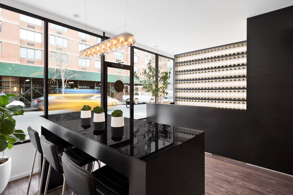 barba, mens grooming boutique     status:  completed 2016      program:  retail square feet: 1,350 sf            location:  new york, ny