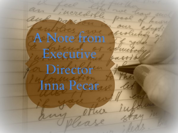 note from Inna Pecar