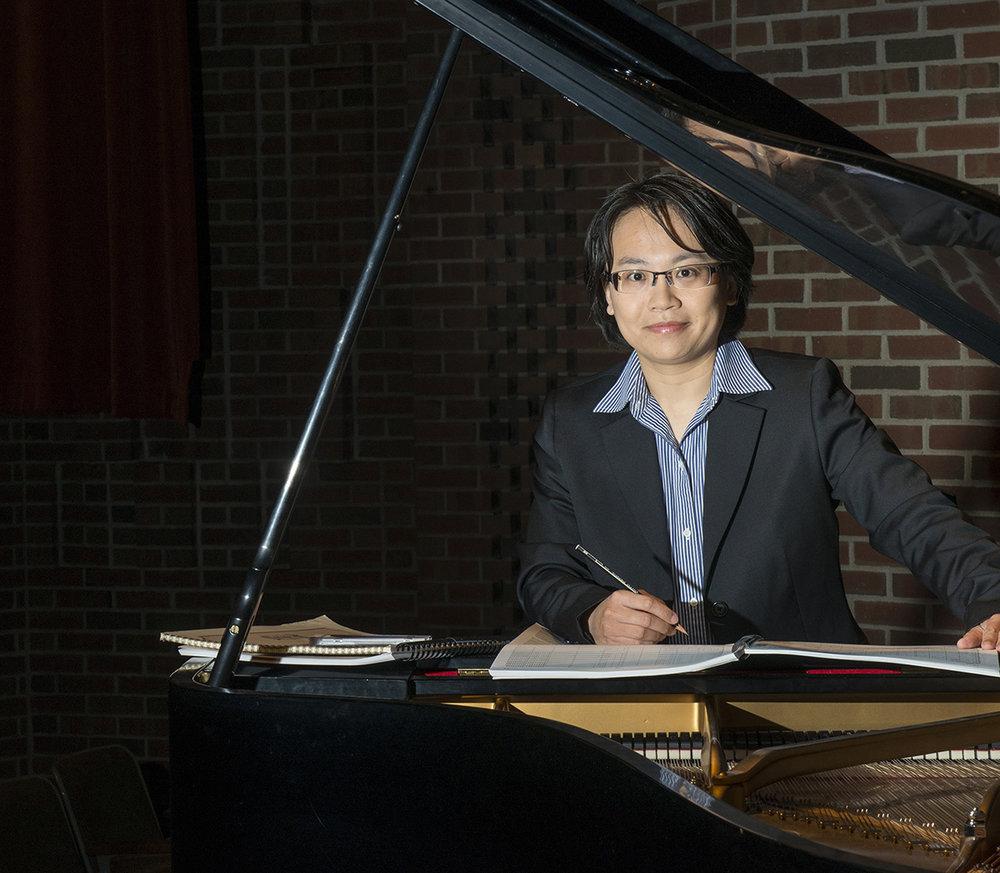 Chiayu Hsu, winner of the 2017 Left Coast Composition Contest