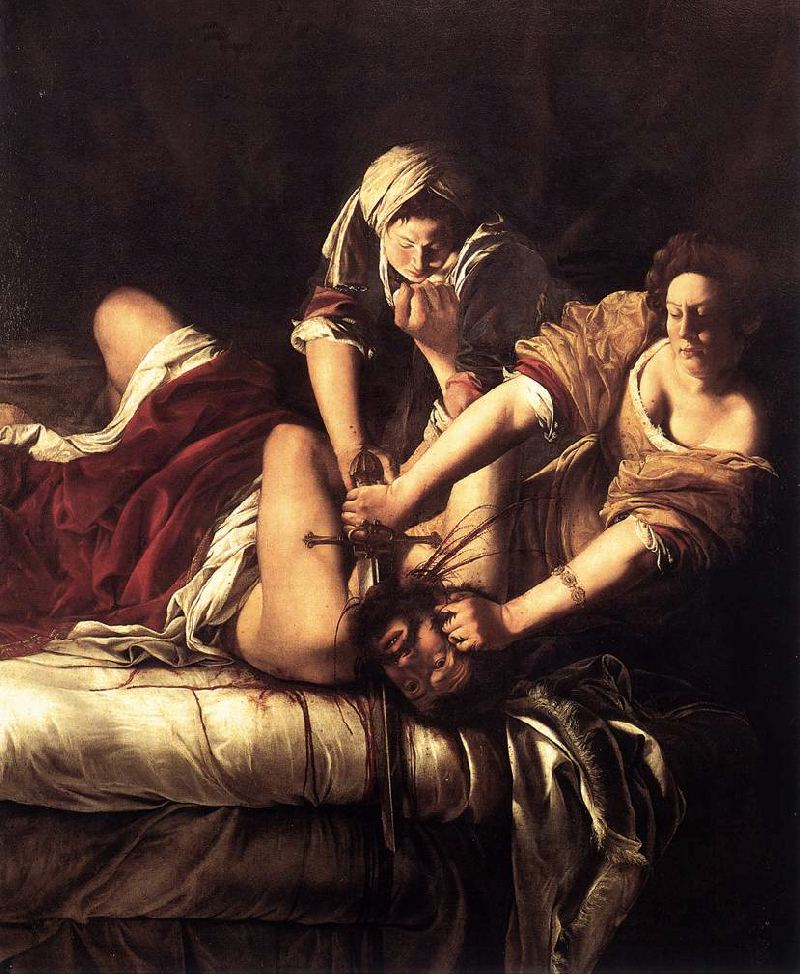 Artemisia Gentileschi's  Judith Slaying Holofernes  c. 1620