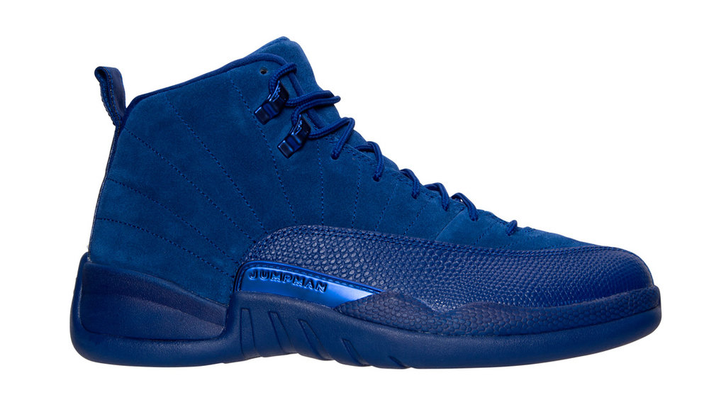 "Air Jordan 12 Retro ""Blue Suede"""